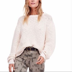 Free People Menace Tunic Knit pullover sweater